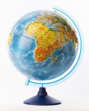 Глобус ATLANTIS с двойной картой диаметр 40 см новая карта подсветка лупа деревянная подставка